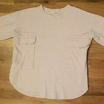 The Cream Long Sleeved Short Sweater Blush Pink Double Pocket Medium Photo