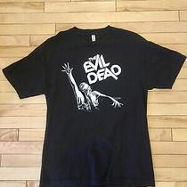 The Evil Dead - Horror Movie Shirt Size Large L Bruce Campbell Sam Raimi Photo