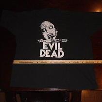The Evil Dead Vintage Shirt Vintage Horror by Sam Raimi and Bruce Campbell Photo