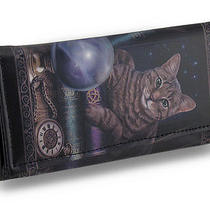 The Fortune Teller Faux Leather Gothic Fantasy Wallet Lisa Parker Artwork Photo