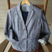 The Gap Navy Blue Women's 2 Piece Pant Suit - Blazer Size 4 Pants 0-R Stretch Photo