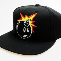 The Hundreds Adam Snapback Cap Hat - Black Photo