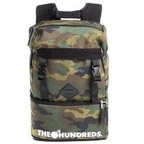 The Hundreds Steven Camera/ Travel Backpack in Camo Photo