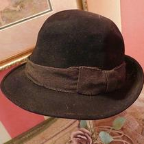 The J.l. Hudson Co Detroit Stetson Black Hat Vintage 3x Beaver Quality Fedora  Photo