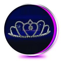 The Layla Rhinestone Tiara - Pageant Wedding or Prom Crown Photo