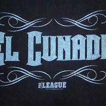 The League Logo Lrg T Shirt Fx Fantasy Football Bro-Lo El Cunado Tee Tv Show Photo