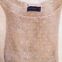 The Limiited Off-White Knit Sweater With Sparkle Detail Photo