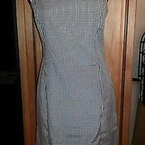 The Limited 6 Sexy & Sweet Black White Mini Check Spaghetti Strap Dress Nice Photo