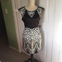 The Limited Black and White Dress Size 4 Photo