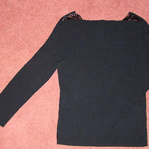 The Limited Black Fancy Shirt Holiday Euc Med Photo