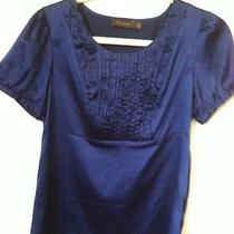 The Limited Blue Blouse M Photo