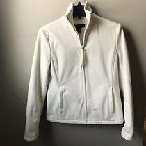 The Limited Brand Ivory Zip Up  Jacket Fleece Lined. Size Xs Photo
