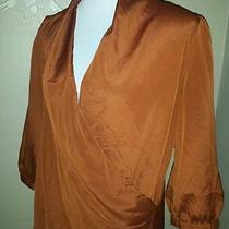The Limited Brown Blouse Size Large Photo