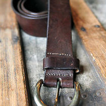 The Limited Brown Genuine Leather Belt Size L Photo