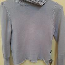The Limited Brown Tutleneck Sweater Womens Sz Small Cotton/ Acrylic Photo