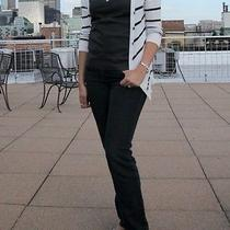 The Limited Cardigan Sweater v-Neck striped.size M Photo