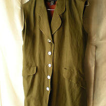 The Limited Collection Women Green Vest Jacket Xs Photo