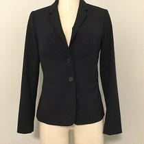 The Limited Collection Women Size 0 Blazer Suit Career Work Navy 2 Button  Photo