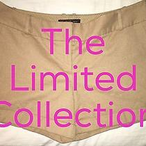 The Limited Drew Fit Beige Shorts Women's 14 Photo