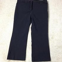 The Limited Drew Fit Black Capri Crop Pants Size 8 Inseam 21  (A1-18) Photo