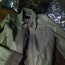 The Limited Green Moto Jacket Photo