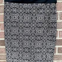 The Limited Lace Look Black Pencil Straight Skirt Sz 0 Photo