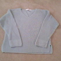 The Limited Ladies 100% Cotton v-Veck Ribbed Sweater Size Large Photo