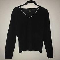 The Limited Medium Black v-Neck Sweater  Photo
