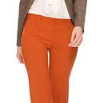 The Limited Modern Trouser - Size 2 Nwt - Pumpkin/orange Dress Pants Photo