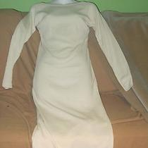 The Limited Off White Knit Sweater Dress- Long Sleeves Xs Photo