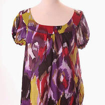 The Limited Purple Multi-Color Shirt Top S 4/6 Photo