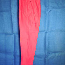 The Limited - Red Slacks With Sturups Photo