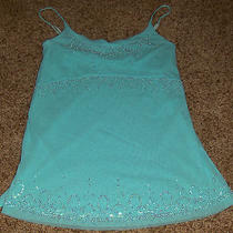 The Limited Shamrock Stretchy Topjewelry Beaded Chestlined Sz Xs Photo