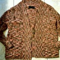 the Limited Shrug Sweater Brown Orange Beautiful Condition Medium Free Shipping Photo