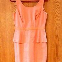 The Limited - Sleeveless Peach Dress (Size 2) - Sold New for 80 - Tag Still On Photo
