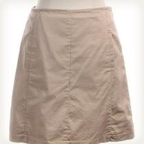 The Limited Solid Tan Mini Skirt Sz 4 Photo