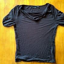 The Limited Stretch Brown Top Medium Short Sleeve Excellent Free Shipping  Photo