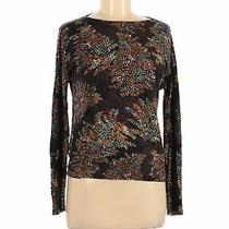 The Limited Women Black Long Sleeve T-Shirt M Photo