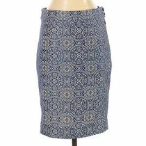 The Limited Women Blue Casual Skirt S Photo