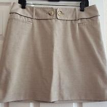 The Limited Women's Beige Mini Skirt Size 10 Photo