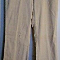 The Limited Women's Corduroy Pants Ivory Size 6 Cotton Blend Nwt Drew Style Photo