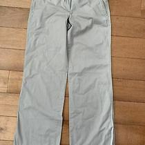 The Limited Women's Sexy Drew Fit Gray Flat Front Cotton Pants - Size 8 Photo