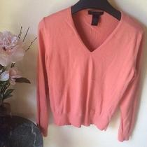 The Limited Womens Coral Stretch Sweater Size L Great Condition Photo