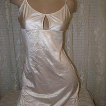 The Lingerie Collection Shaper Nightgown Slip Blush M 25% Spandex Clearance New Photo