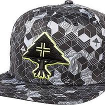 The Lrg Retro Eternity Hat in Black Grey  100% Polyester Osfm Photo