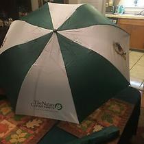 The Nature Conservancy Umbrella Green & White in Nature Theme Photo