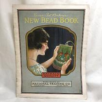 The New Bead Book 1924 Emma Post Barbour's New Bead Book Origianl Book Hard Copy Photo
