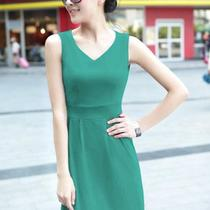 The New Simple Style Fashion Women's Bottoming Skirt Dress Multi Color Photo
