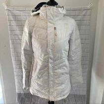 The North Face 600 Goose Down Parka Puffer Coat White Size Small S Photo