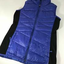 The North Face 600 Goose Down Puffer Vest Womens Size Medium Blue Photo